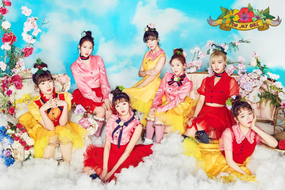 "Oh My Girl's ""Coloring Book"" derailed by the constant sound of .."