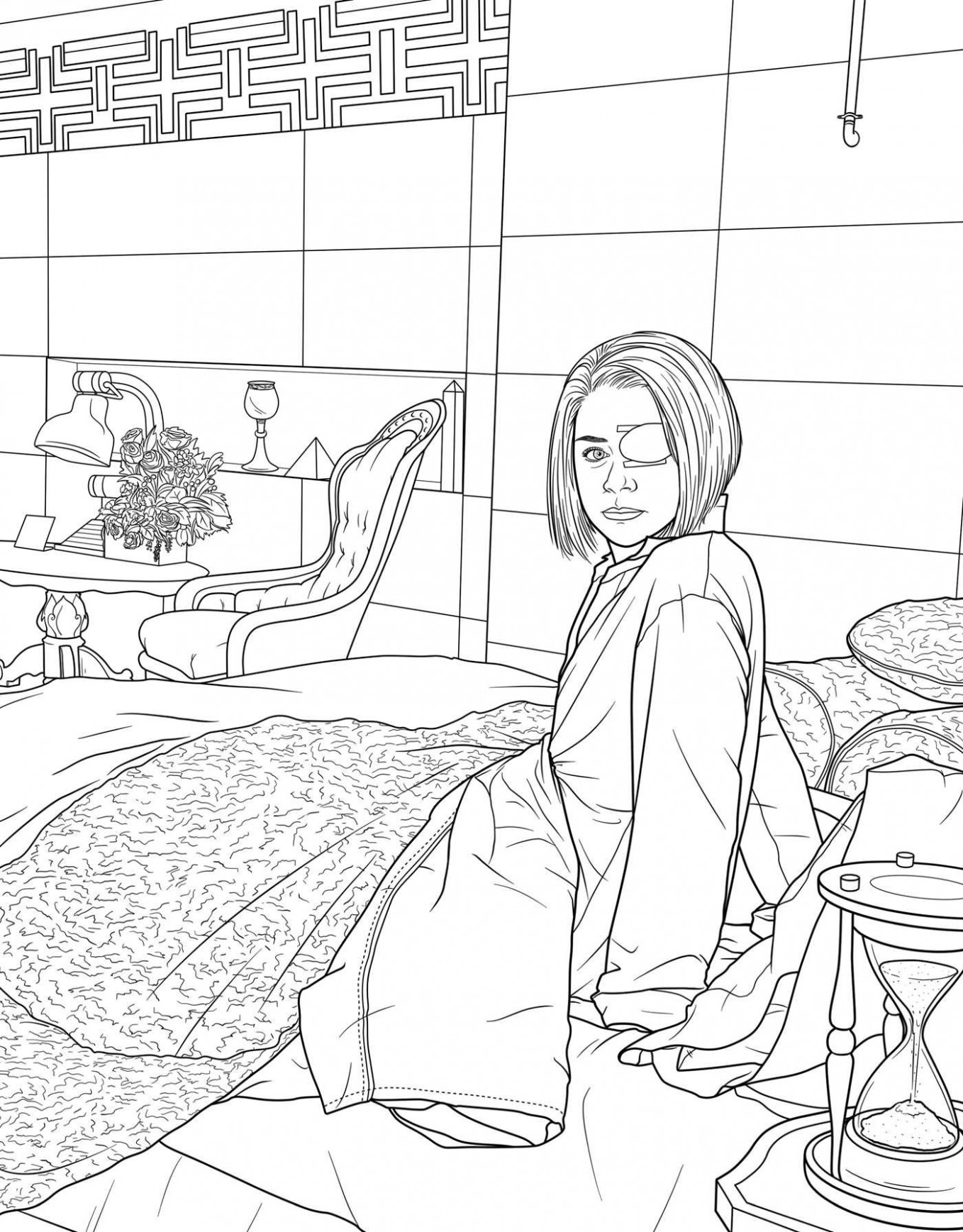 Orphan Black: The Official Coloring Book | Book by Insight Editions ..