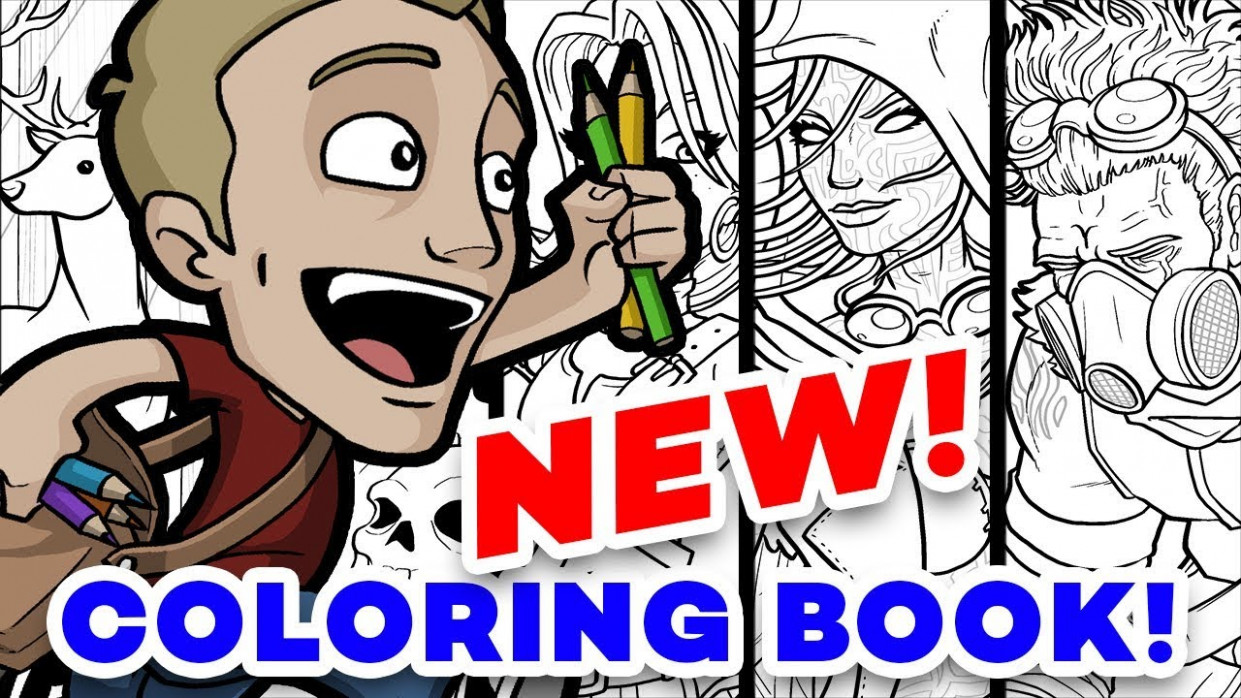 OUT NOW! Jazza's Coloring eBook! – YouTube – jazza coloring book