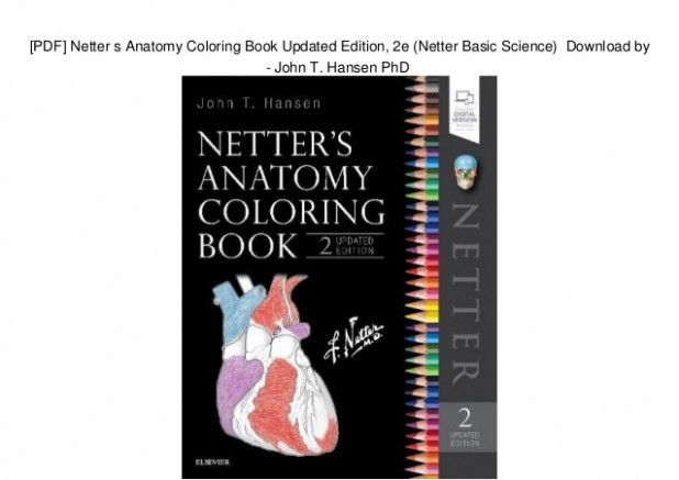 PDF] Netter s Anatomy Coloring Book Updated Edition, 13e (Netter Basi… – netter's anatomy coloring book