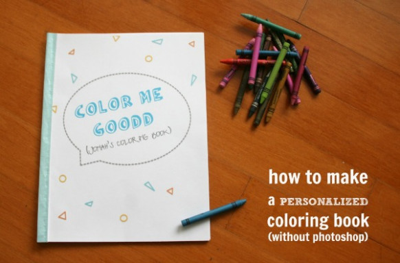 Personalized Coloring Books coloring pictures - C.R.A.F.T.