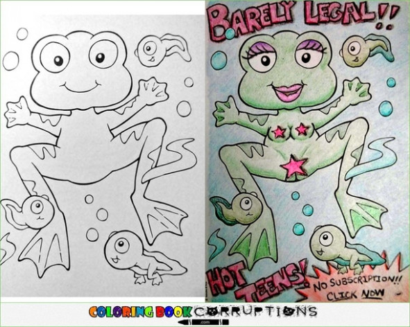 Pic #14 – Coloring book corruptions Part – Meme Guy – meme coloring book