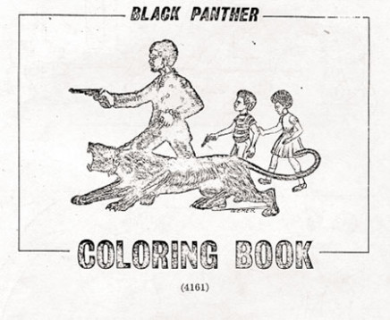 Picture Piece: The Black Panther Coloring Book | Frieze – black panther coloring book