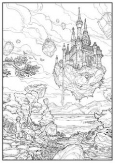 Pin by ASH14 on uncolored concept art   Pinterest   Concept art – mrsuicidesheep coloring book