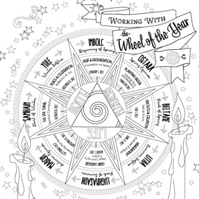 Planner – Coloring Book of Shadows – book of shadows coloring book