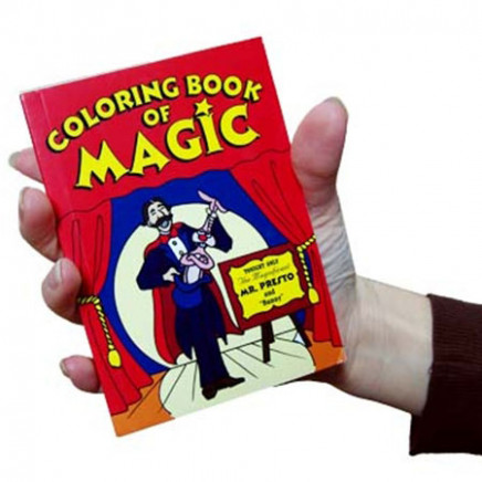 Pocket Size Magic Coloring Book Trick - Fast Shipping | MagicTricks.com