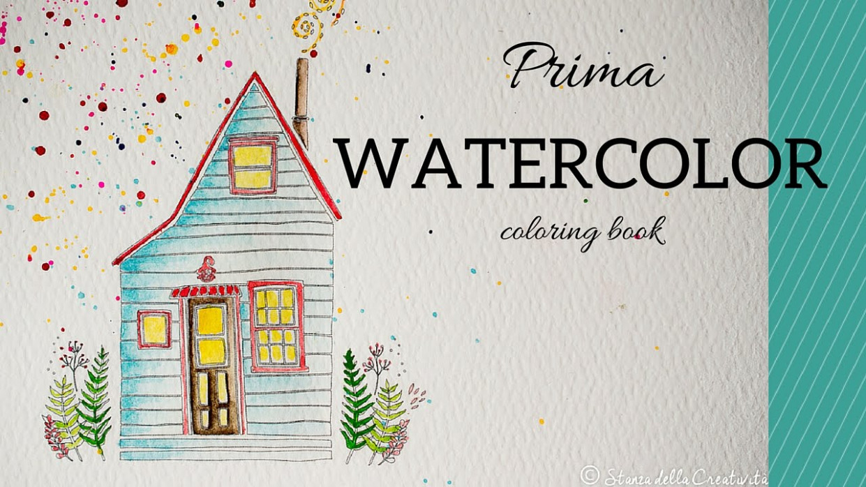 Prima watercolor coloring book: with you i am home – YouTube – watercolor coloring book