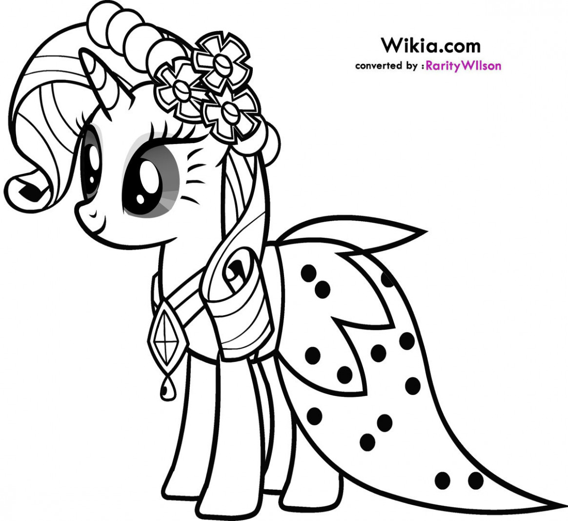 Printable My Little Pony Coloring Pages 15 With Printable My Little ..