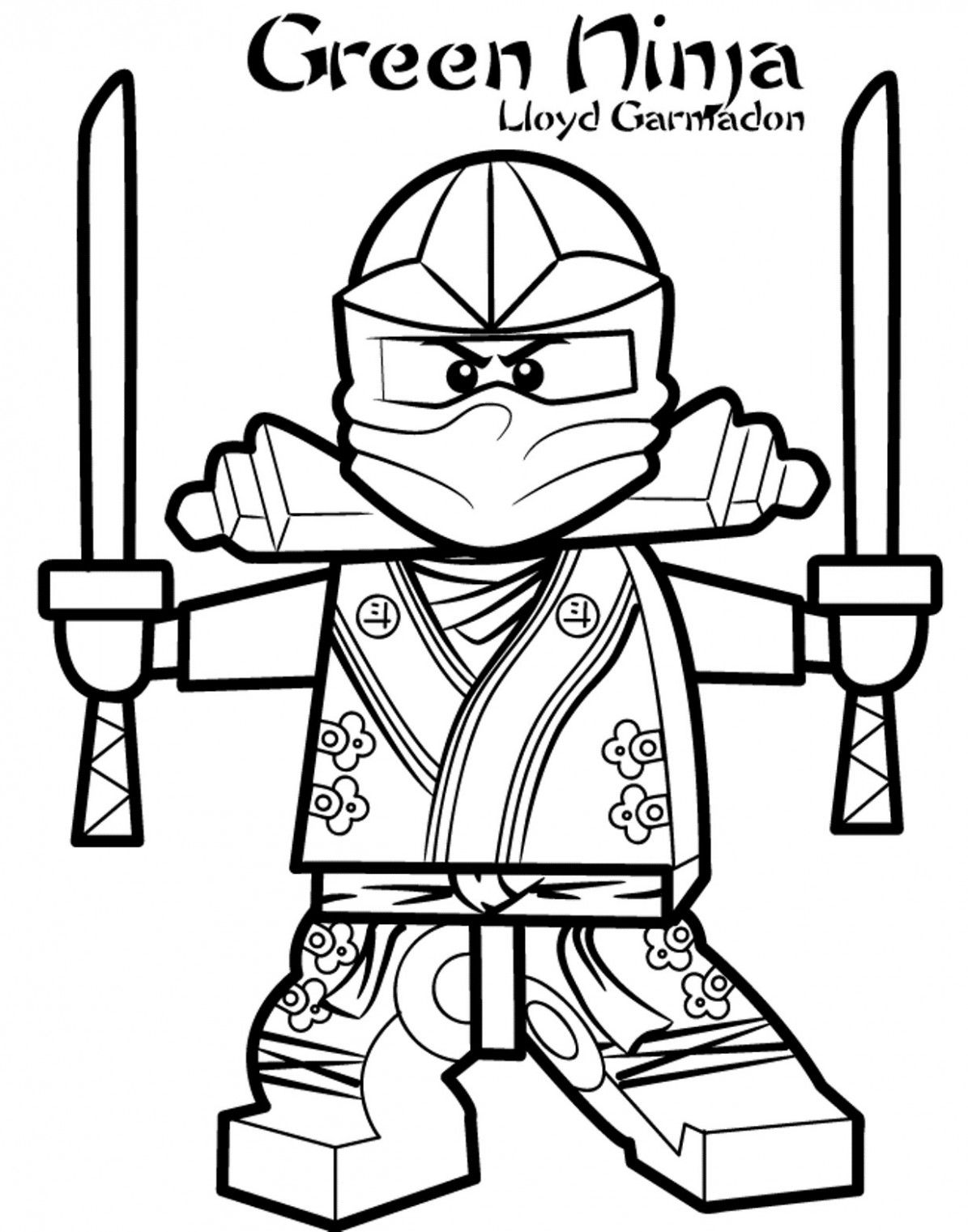 Printable Ninjago Coloring Pages Coloring Book | Thejourneyvisvi.com ..