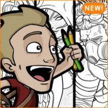 Products | Jazza Studios – jazza coloring book