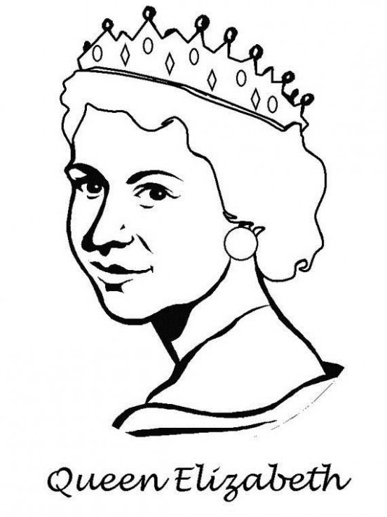 Queen Elizabeth Diamond Jubilee Coloring Pages   Adult Coloring ..