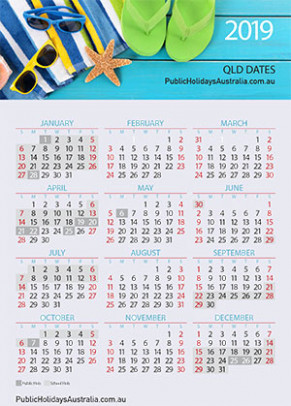 Queensland School Term Dates and School Holidays Calendar