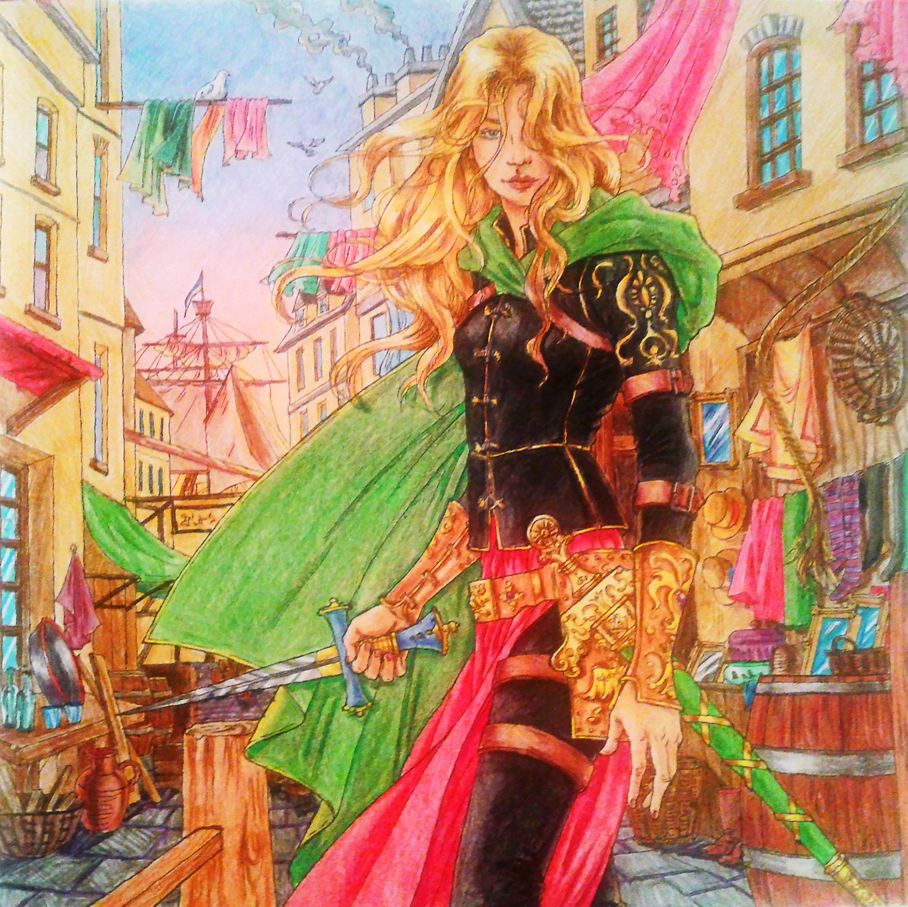 Quick Thoughts (and updates!): The Throne of Glass Colouring Book 20 ...