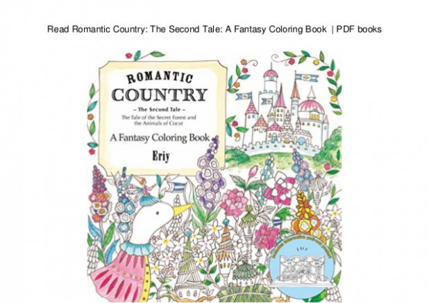 Read Romantic Country: The Second Tale: A Fantasy Coloring Book | PD…