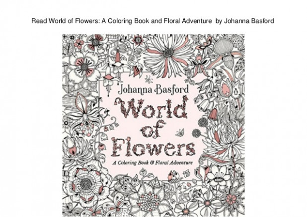 Read World of Flowers: A Coloring Book and Floral Adventure by Johan… – world of flowers a coloring book and floral adventure