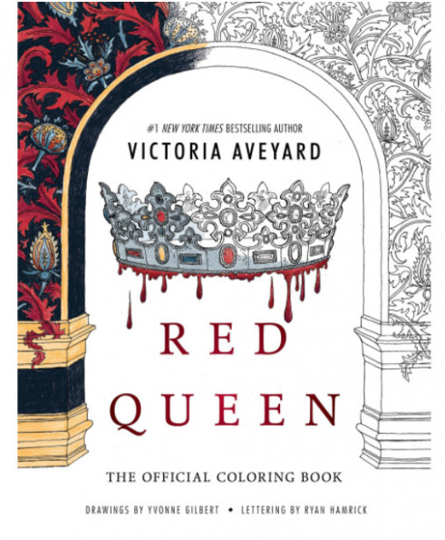 Red Queen : The Official Coloring Book by Victoria Aveyard (20 ..