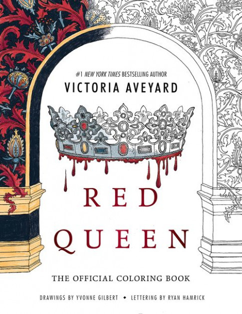 Red Queen: The Official Coloring Book – Victoria Aveyard – Paperback – red queen the official coloring book