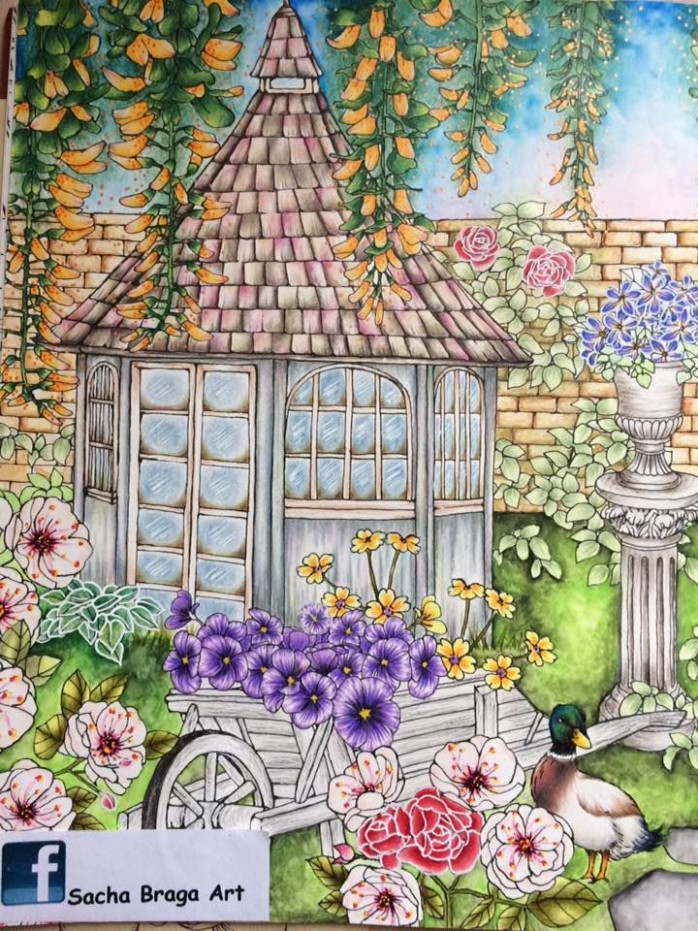 Rhaspsody In The Forest Coloring Book | Menuet De Bonheur  – rhapsody in the forest coloring book