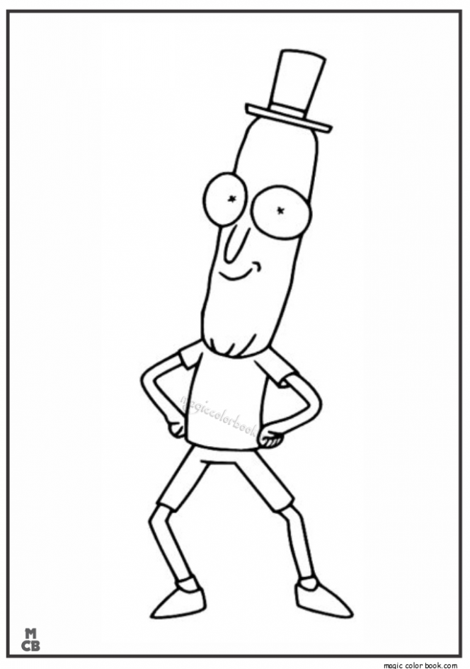 Rick And Morty Free Coloring Pages by Rick And Morty Coloring Pages ...