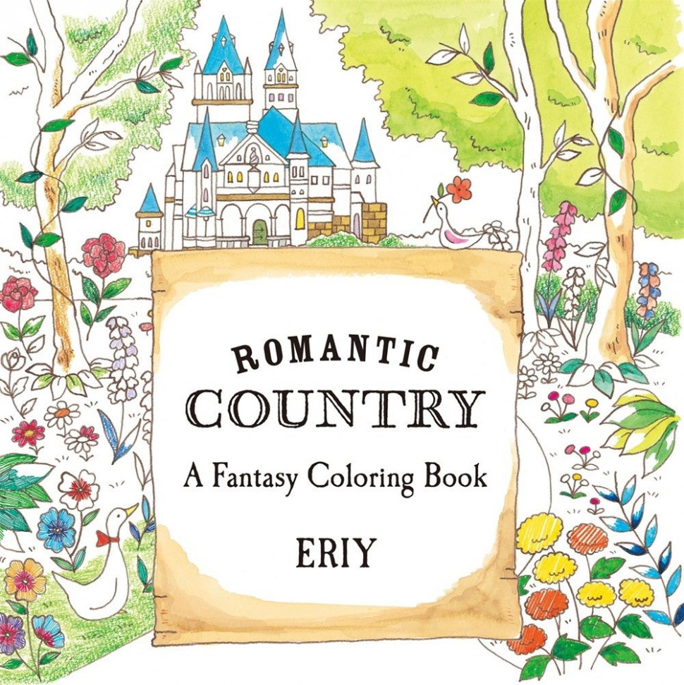 ROMANTIC COUNTRY A COLORING BOOK: Amazon
