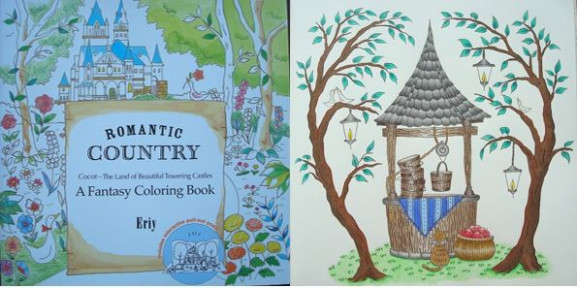 Romantic Country: A Fantasy Coloring Book – A Review | Colouring In ..