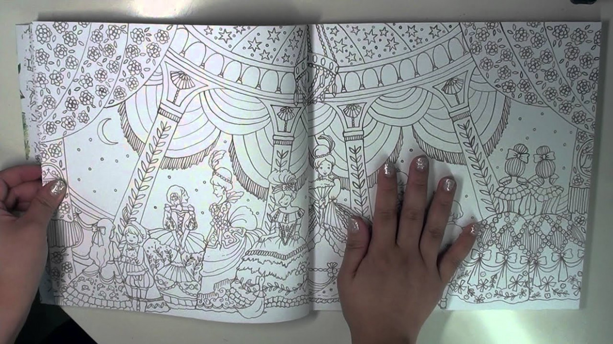 Romantic Country Coloring Book – The second tale (Flip through ..