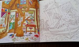 Romantic Country Second Tale Coloring Book - YouTube