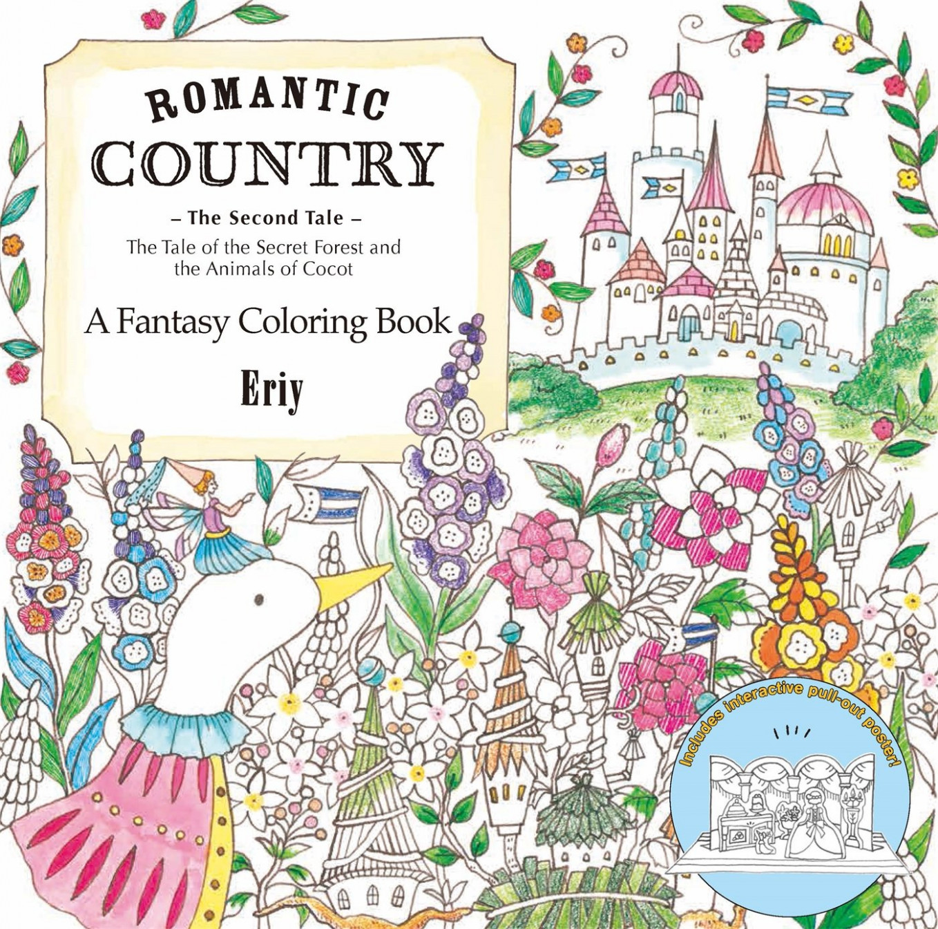 Romantic Country: The Second Tale: A Fantasy Coloring Book: Amazon ..