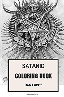 Satanic Metal Coloring Book: Norwegian Black Metal and Antichrist ...
