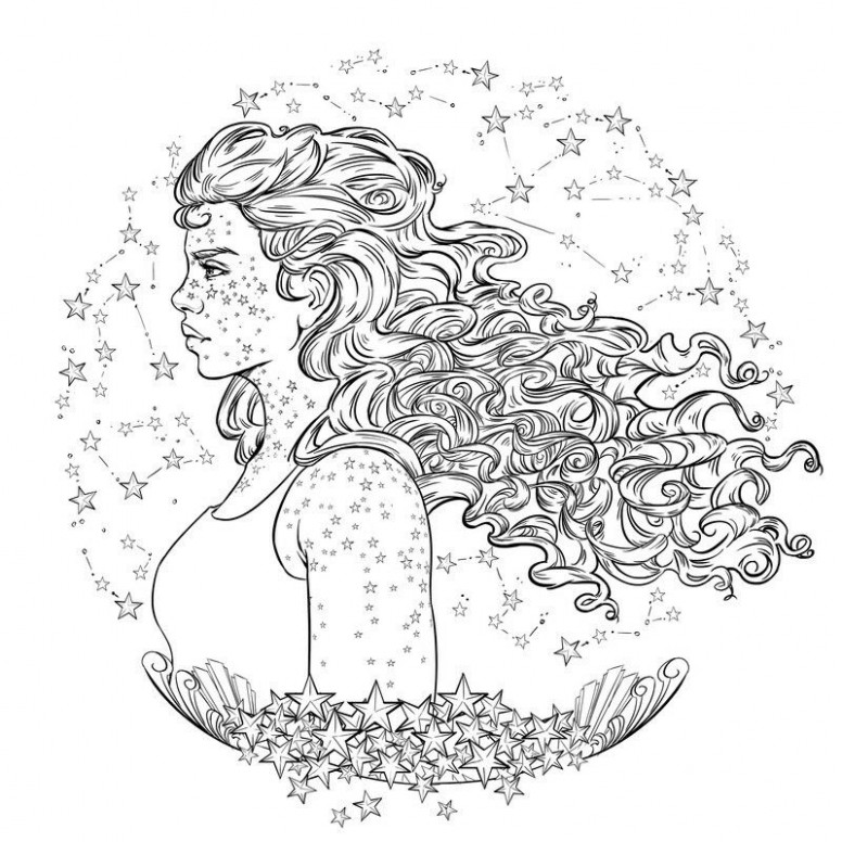 Scarlet coloring page from the lunar chronicles coloring book ..