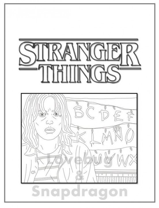 Season 19 Digital Coloring Book // Instant Printable Digital | Etsy – stranger things coloring book