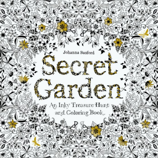 Secret Garden: An Inky Treasure Hunt and Coloring Book by Johanna ...