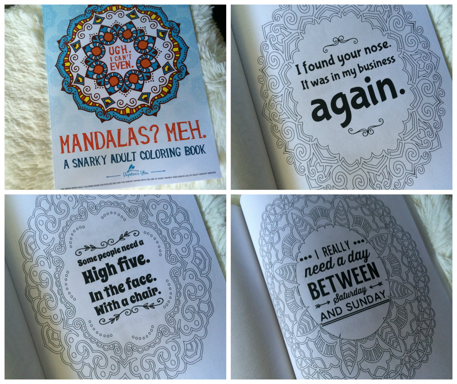 Simply Nerdy Mom: Fun Adult Coloring Books from Papeterie Bleu, plus ...