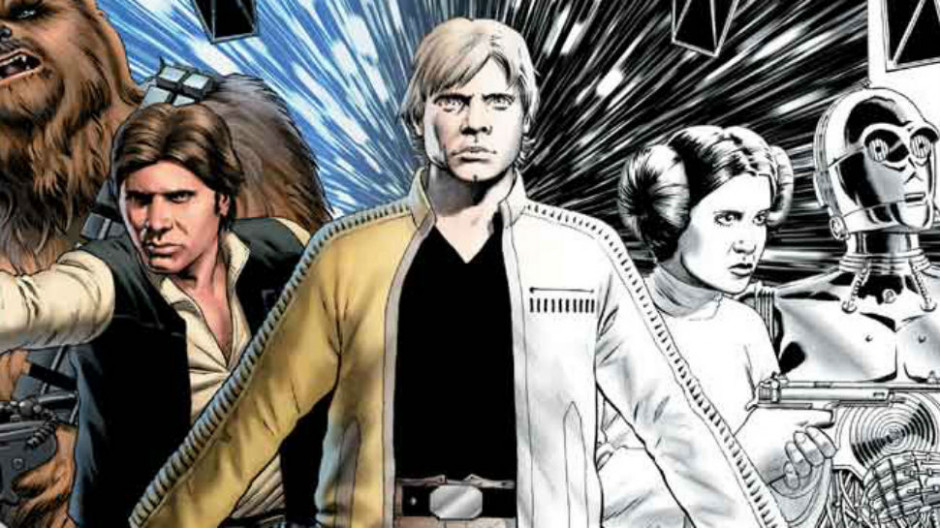 STAR WARS Coloring Book Announced By Marvel | Nerdist - star wars coloring book