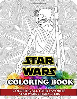 Star Wars Coloring Book: Coloring All Your Favorite Star Wars ...