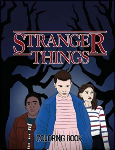 Stranger Things Coloring Book: Adult Coloring Book: Luka Abel ..