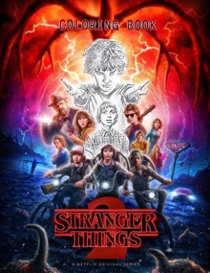 Stranger Things Coloring Book – Walmart