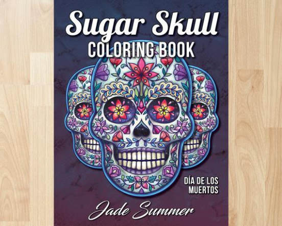 Sugar Skull Coloring Book by Jade Summer Coloring Books | Etsy – jade summer coloring book