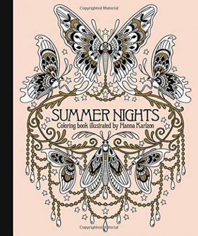 Summer Nights Coloring Book: Daydream Coloring Series - daydreams coloring book