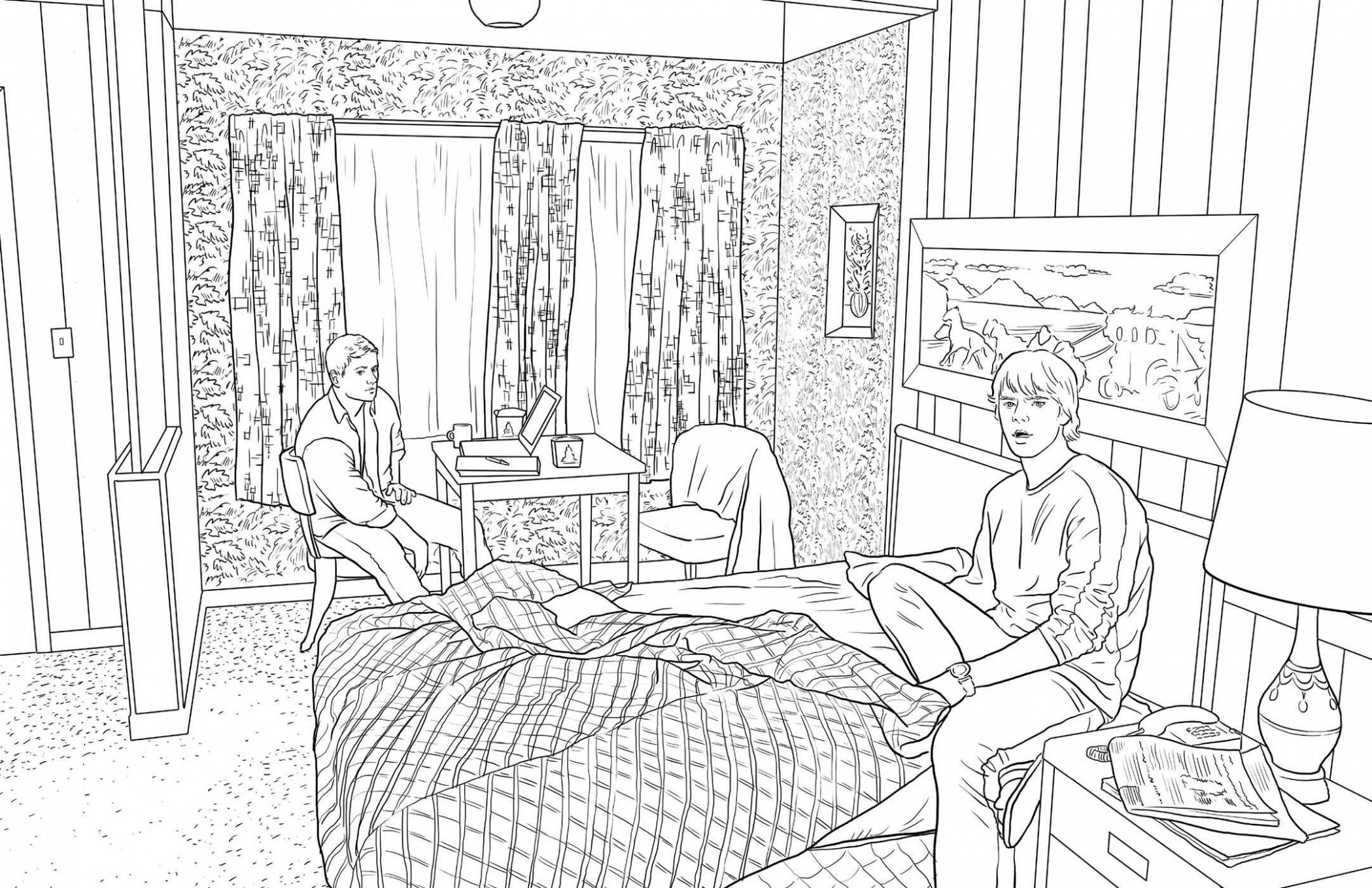 SUPERNATURAL: THE OFFICIAL COLORING BOOK: Amazon.de: INSIGHT ...