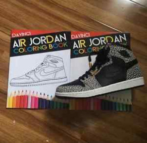 The Air Jordan Coloring Book 15 | eBay