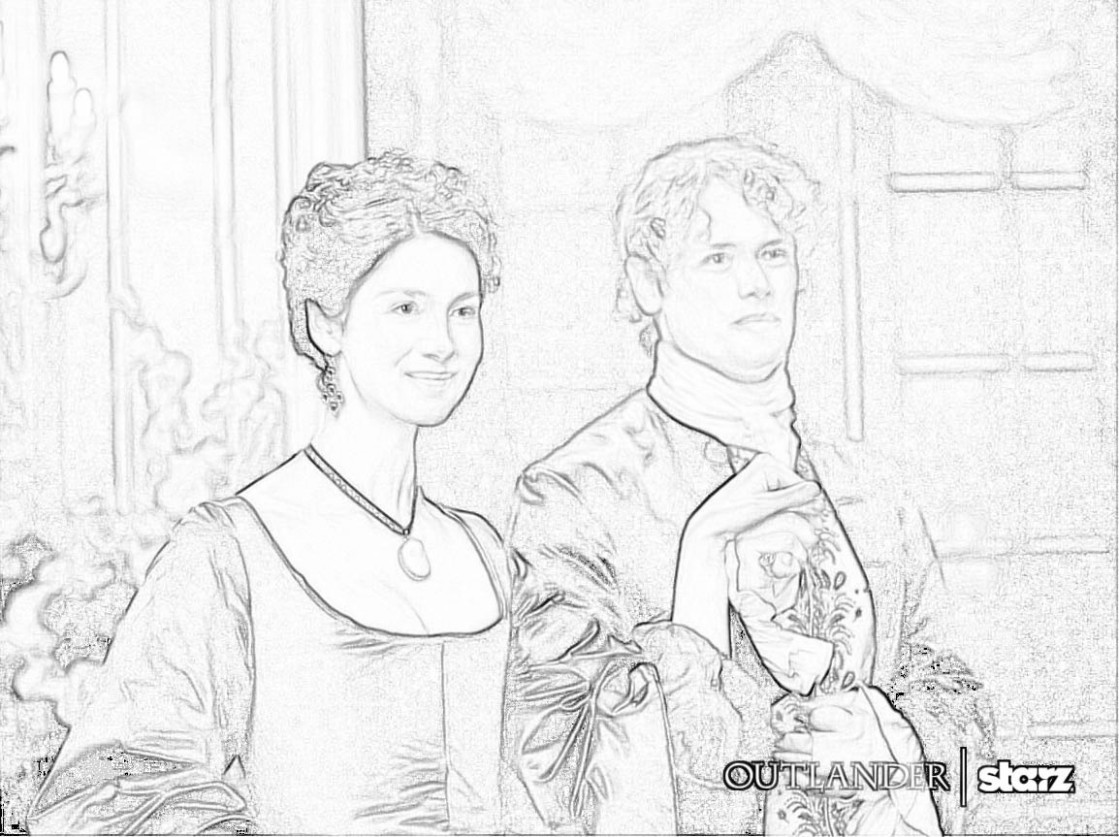The Art that Inspires Writers and Readers: Outlander coloring pages ..