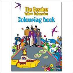 The Beatles Colouring Book – Yellow Submarine Sgt Pepper Lennon ..