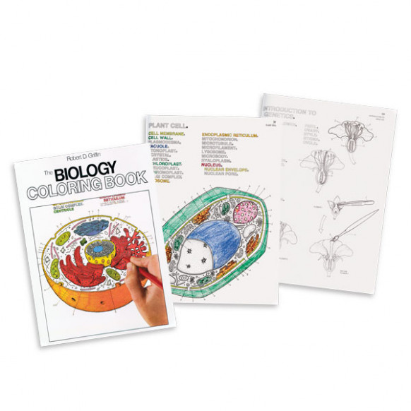 The Biology Coloring Book - biology coloring book