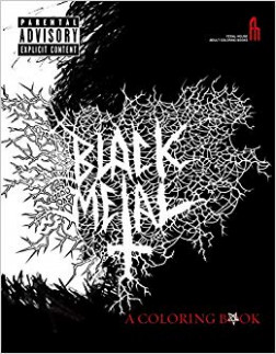 The Black Metal Coloring Book (Feral House Coloring Books for Adults ...