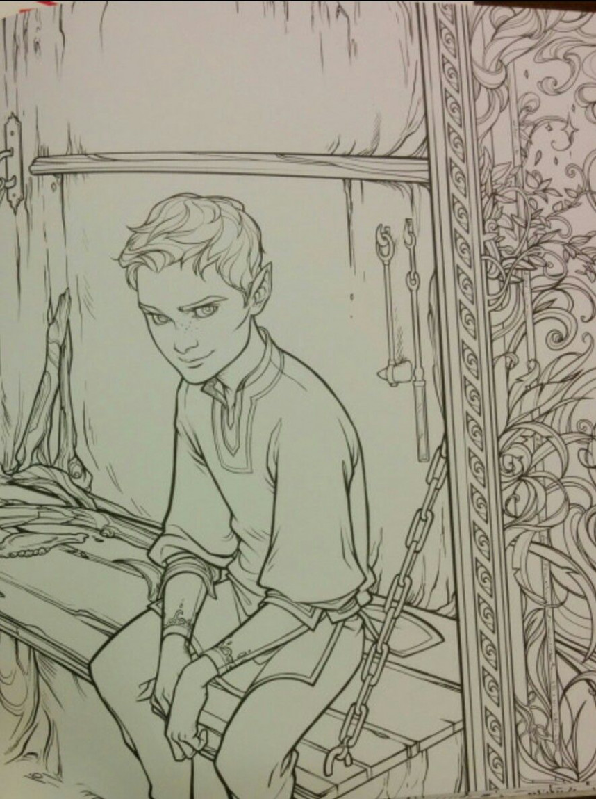 The Bone Carver Official pictures from the A Court of Thorns And ..