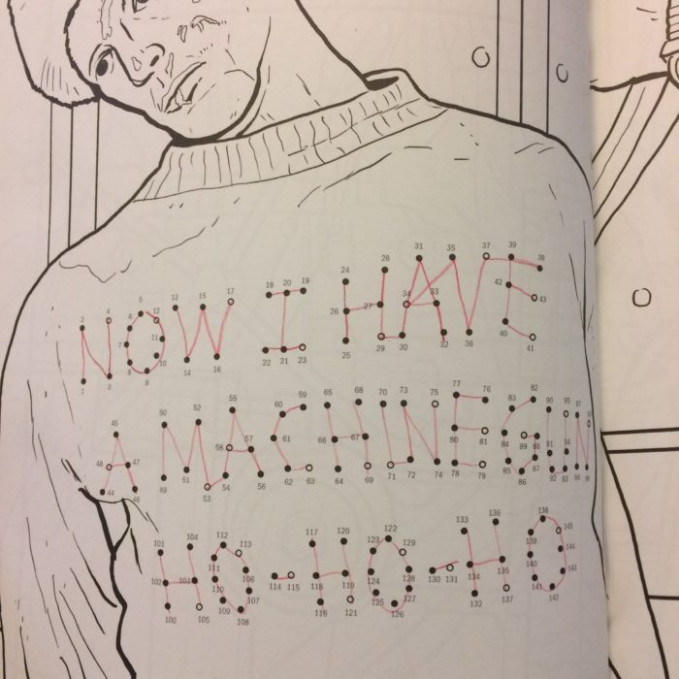 The Die Hard Coloring and Activity Book Is Mostly Great - WWAC - die hard coloring book