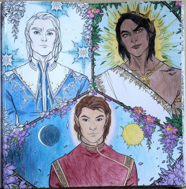 The High Lords of Prythian. ACOTAR Coloring Book ~ CLPN | Throne of ..