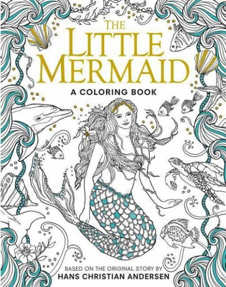 The Little Mermaid: A Coloring Book von Hans Christian Andersen ..