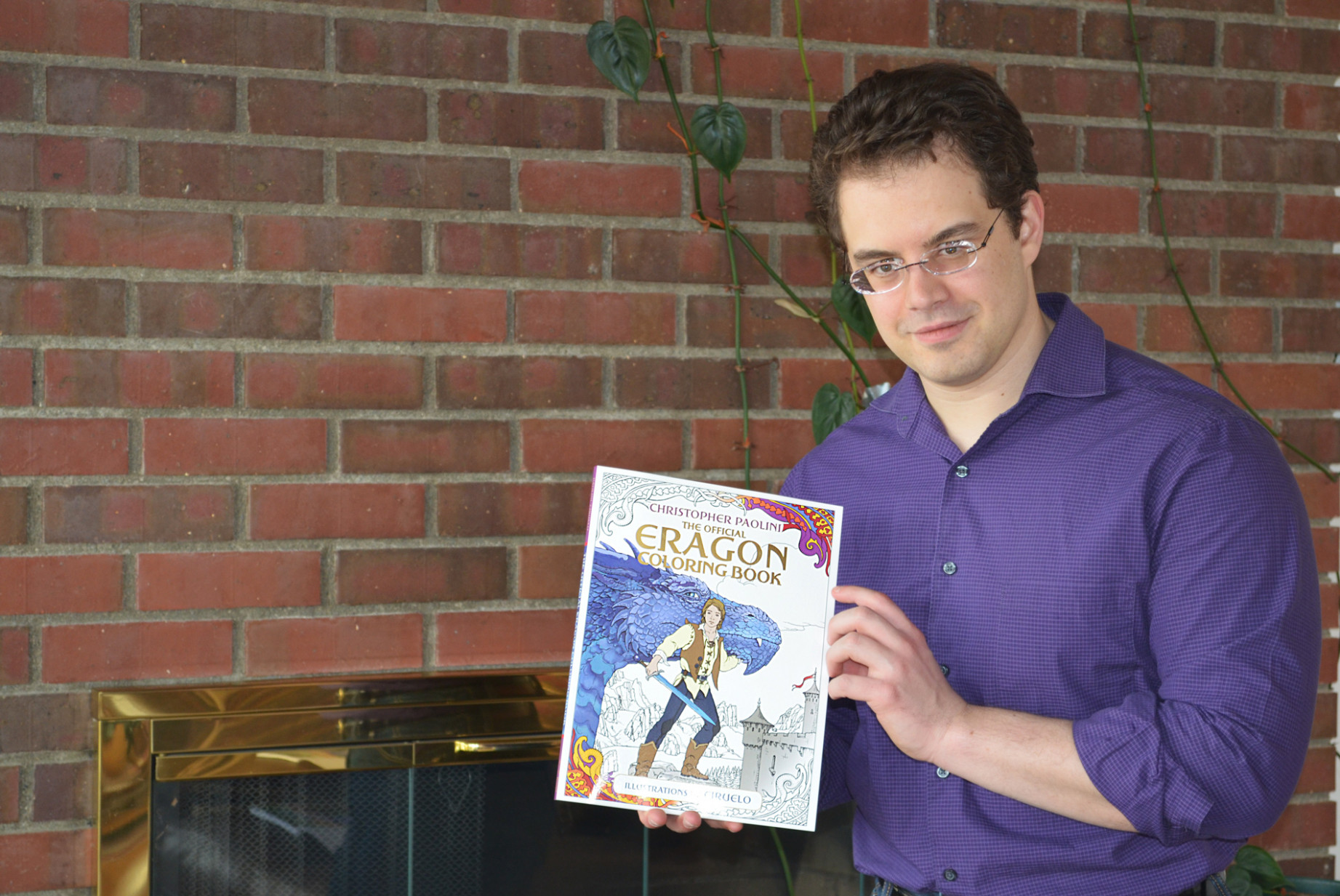 The Official Eragon Coloring Book - Christopher Paolini - Paolini